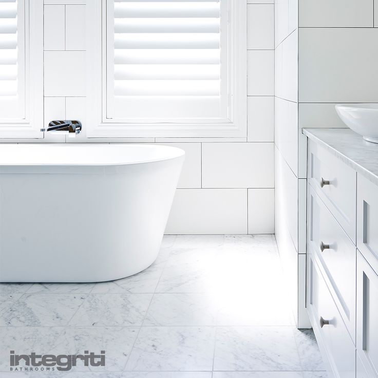 Here at Integriti Bathrooms, we believe bathroom renovations have no reason to be frustrating and should be fun for not only ourselves, but also our clients. Our renovation process was designed with this in mind. #integritibathrooms #custommade #sydneybathroom #interiordesign #bathroom #bathtub #bathroomrenovation #bathroomremodel