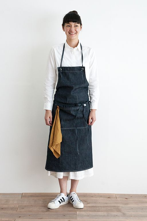 DENIM APRON (Long)