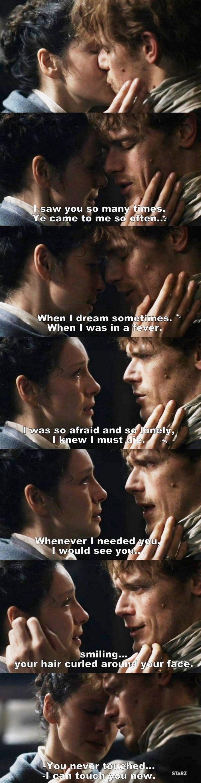 Outlander S03E06 - Jamie & Claire.