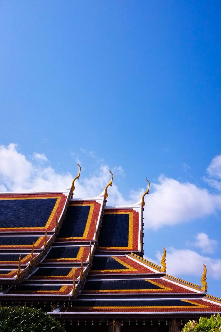 The pattern, the colors, the structure 👌🏻👌🏻 (Grand palace, Thailand)