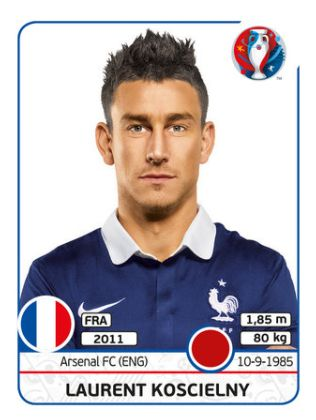 021 Laurent Koscielny - FRANCIA - EURO 2016