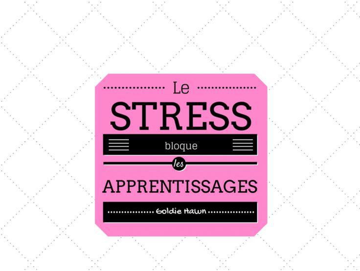le stress bloque les apprentissages pleine conscience à l'école