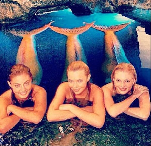 Cleo, Bella, Rikki from H2o: Just Add Water