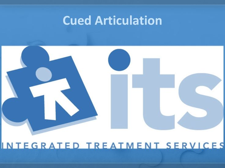 I.T.S - Cued Articulation by Integrated Treatment Services via slideshare