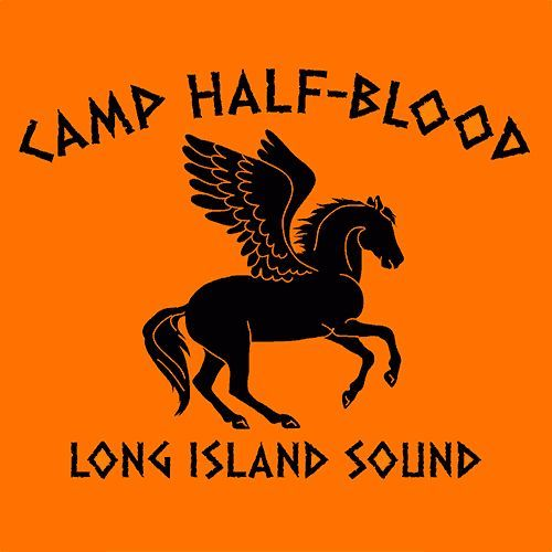 Camp Half Blood T-Shirt More Info Behind Camp Half Blood T-Shirt Camp Half-Blood Chronicles is a media franchise created by author Rick Riordan, encompassing three five-part novel series, three short-
