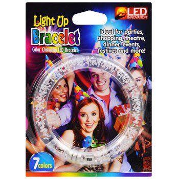 LED Inovation Color-Changing LED Light-Up Bracelet