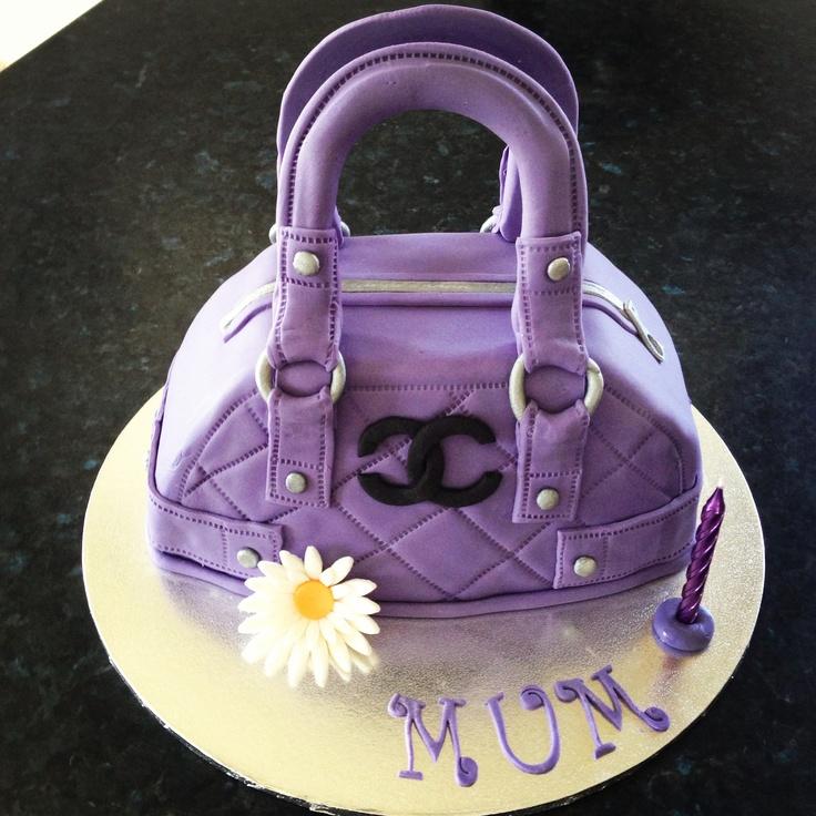 Handbag Design Birthday Cake : 27 best images about Ladies cakes on Pinterest