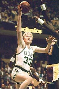 Larry Bird - NBA - before tats and trashtalk