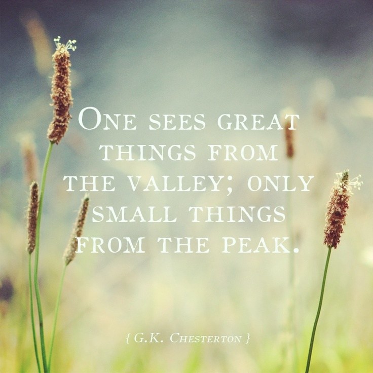 Original photography, selected G.K. Chesterton quote.