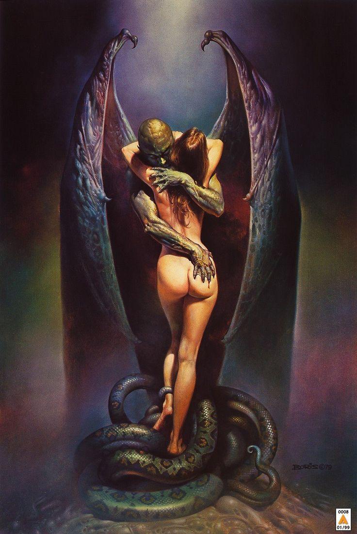 erotic demon artwork