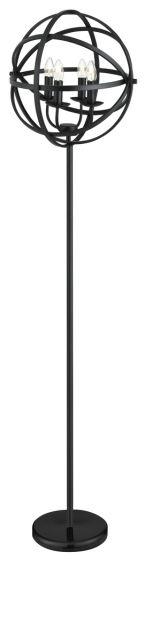ORBIT Searchlight - stojanová lampa sviečková - matná čierna