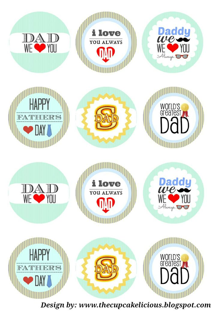 father's day tie stickers