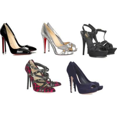 la acosadora de zapatos