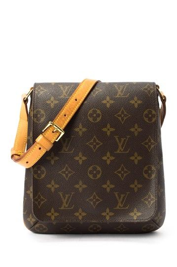 Vintage Louis Vuitton Leather Musette Salsa Short Messenger Bag by Vintage Handbags on @HauteLook