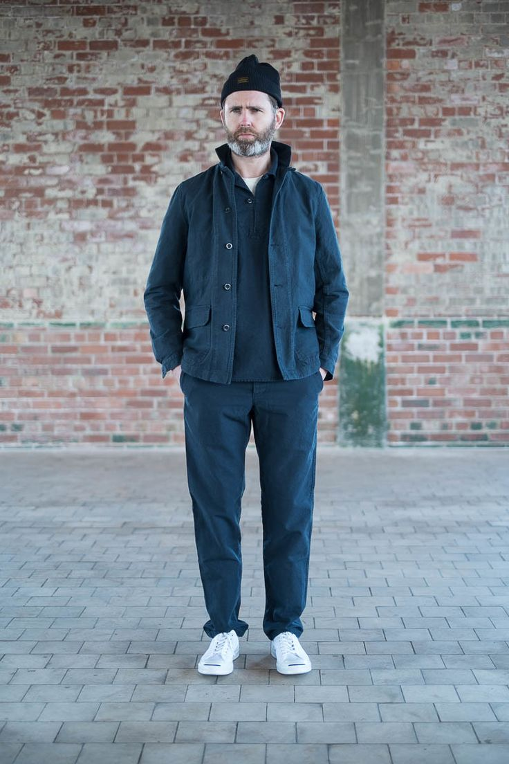 Navy Cotton Serge Mayenne Jacket by Arpenteur – The Bureau Belfast