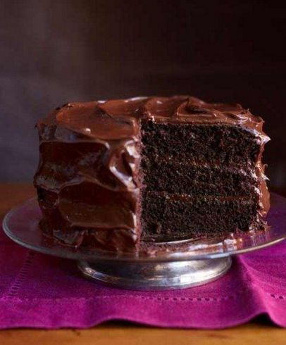 This is your grandmother's chocolate cake recipe and it is SO GOOD. This classic recipe from 1927 has stood the taste of time.