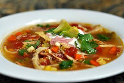 Chicken Tortilla soup, Recipe & How To Prepare. | Cooking Galaxy