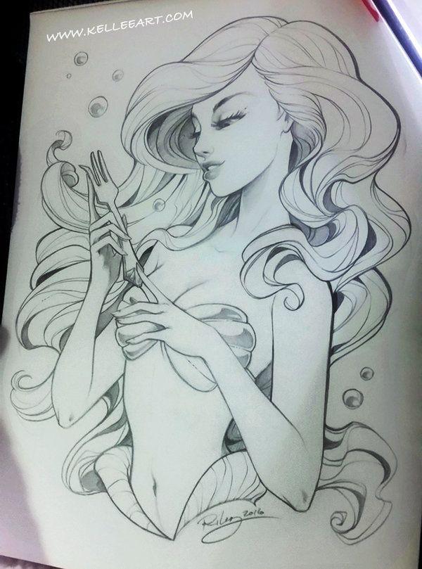 Ariel by KelleeArt.deviantart.com on @DeviantArt
