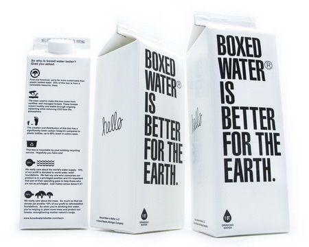 Box Water: Water Bottle, 2009 Packaging, Plastic Packaging, Packaging Design, Graphics Design, Boxes Water, Beverages Packaging, Water Packaging, Creative Packaging