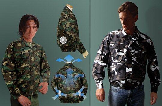 Kuchofoku Air-Conditioned Camouflage Jacket