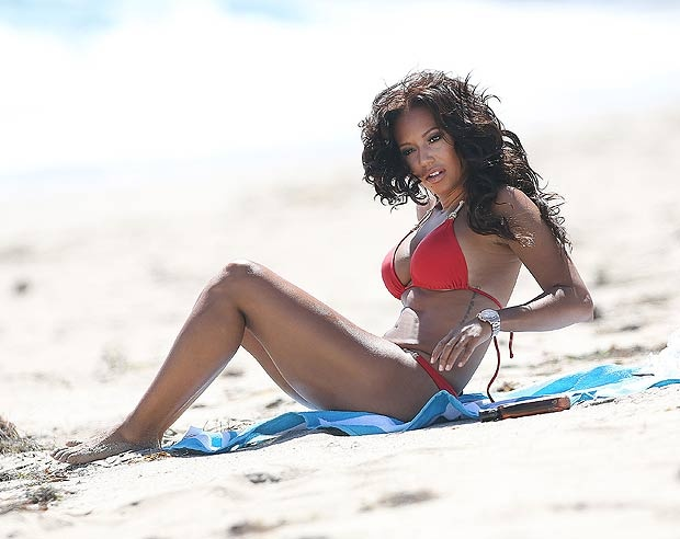 B girl bikini spice mel