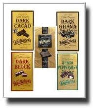 Whittakers chocolates (from NZ)
