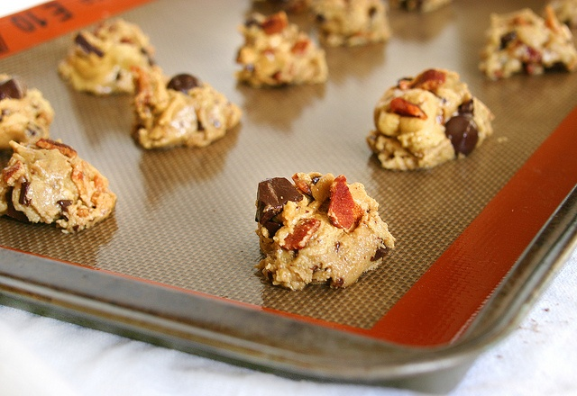 Bacon, and Dark Chocolate Chip Cookies with sea salt & cayenne pepper ...