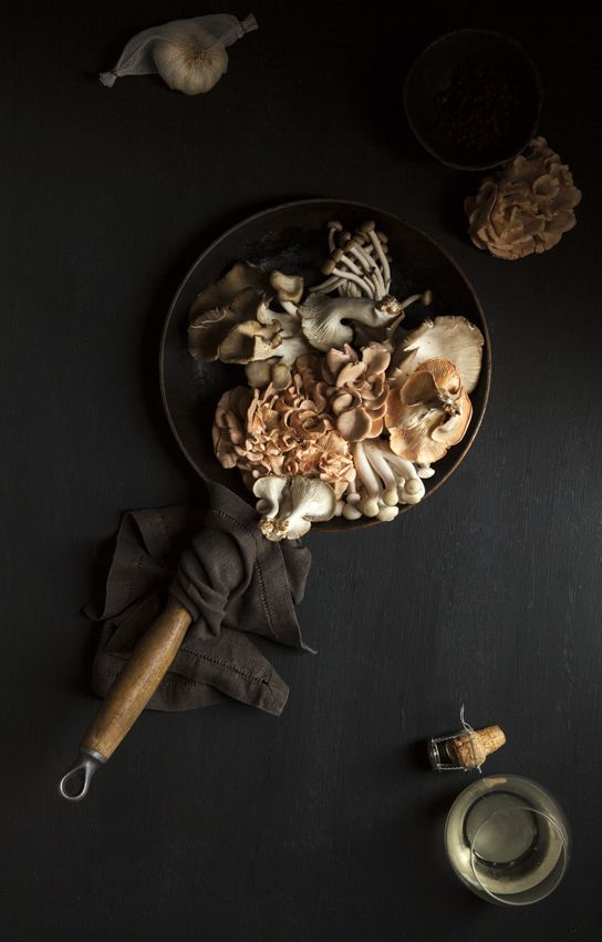 Mushrooms in pan  Nadine Greeff