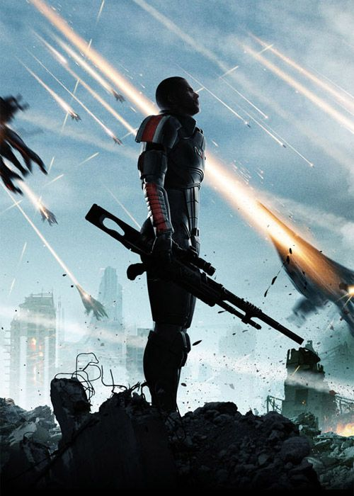 Mass Effect 3. Made me think about our planet, Earth. All the aliens and zombies…