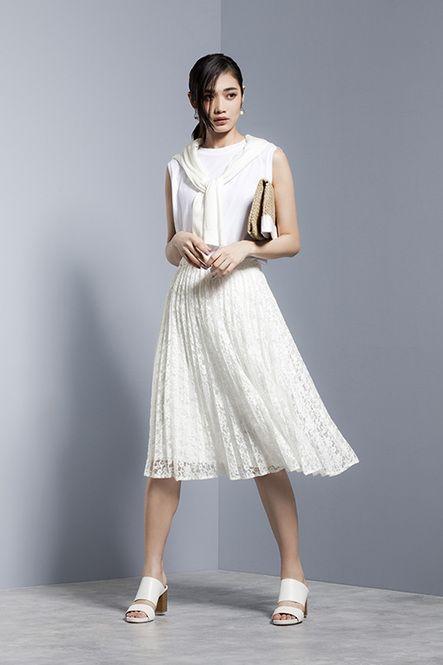 今年はプリーツスカートが大流行!だけどロング丈はもう着こなしました…。そんなあなたへ、夏らしいユニクロとGUのミディ丈プリーツスカートをおすすめします♡