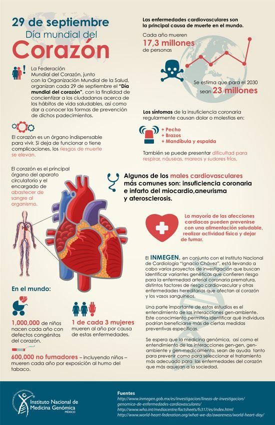 Día Mundial del corazón #infografia