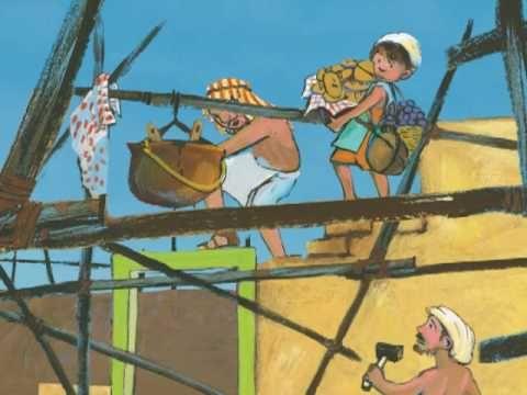 Het bijbelverhaal van de toren van Babel als animatiefilm, gemaakt door www.hetwoestewoud.nl.