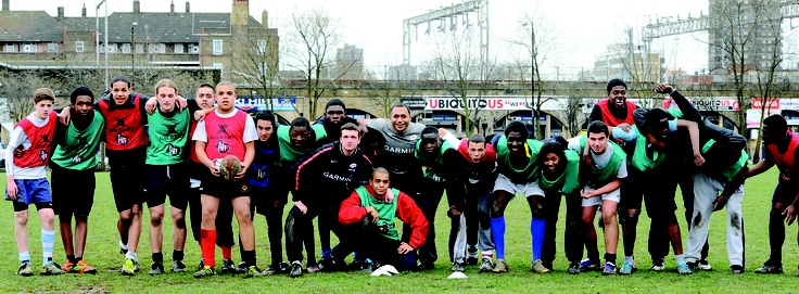 The Hitz Programme - partnership between Premiership Rugby, Metropolitan Police, Active Communities Network, Wooden Spoon, The Mayor's Office, RFU and the RFF (Glasshouse Partnership) http://corporateengagementawards.com/last-years-winners.html