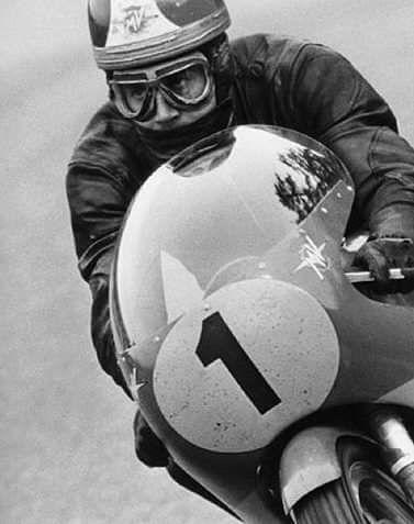 Giacomo Agostini…year? 60's..