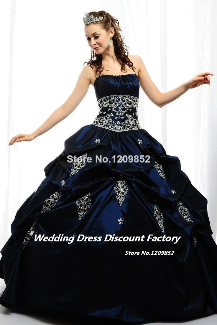 Cheap dress frame jewelry holder, Buy Quality dress with directly from China dress classy Suppliers: NEW! Exquisite Appliqued Strapless Ruffled Royal Blue Satin Quinceanera Dresses Birthday S