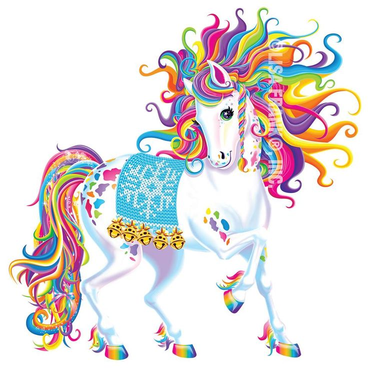 Lisa Frank Unicorn Birthday Cake