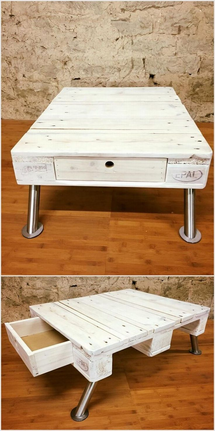 Used Shipping Wood Pallets Table Ideas 1213