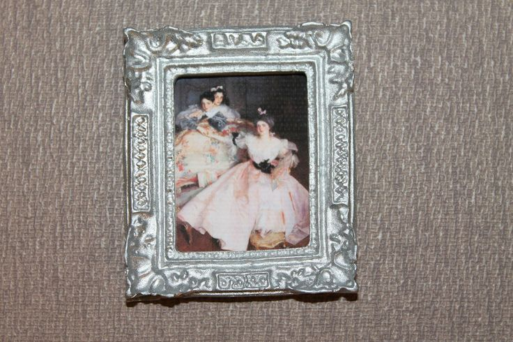 DOLLHOUSE MINIATURE Painting/ Picture # 95