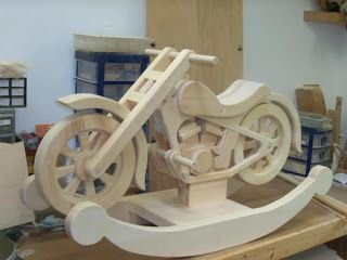 Pinterest the world s catalog of ideas for Woodworking plan for motorcycle rocker toy