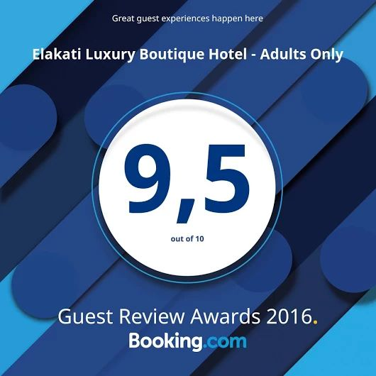 Thank to all our #bookingcom guests for thr great scores #Elakati #Rhodes #Greece