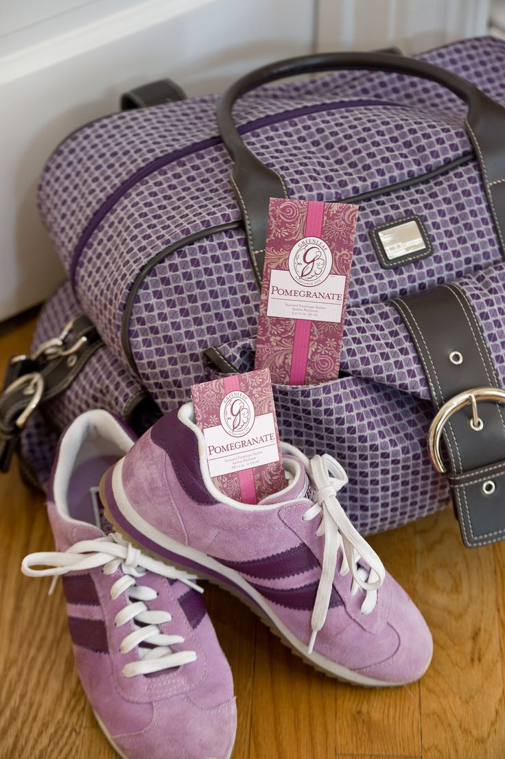 Use #52 - Keep a sachet in gym or golf bag, even stinky sneakers!