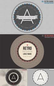 Badge vintage circular round old rusty