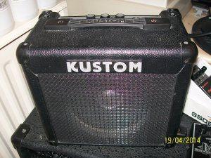 Kustom combo practice amp