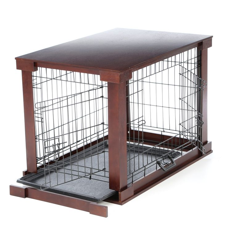 Merry products deluxe pet crate i too cute pinterest for High end dog crates