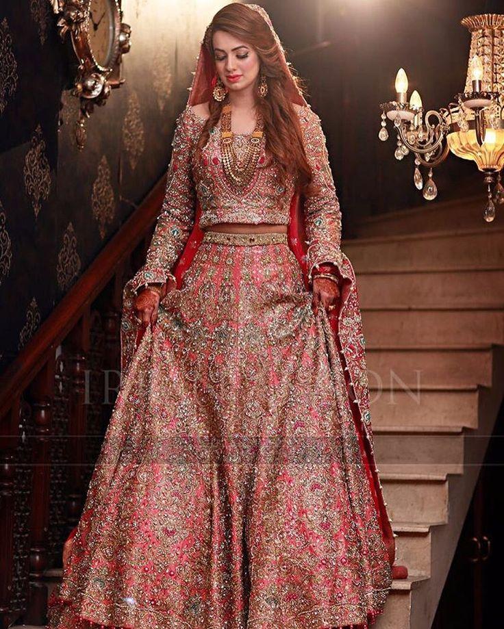 Pakistani Bridal Lehengas: 78 Best Images About Pakistani Bridal Dresses On Pinterest