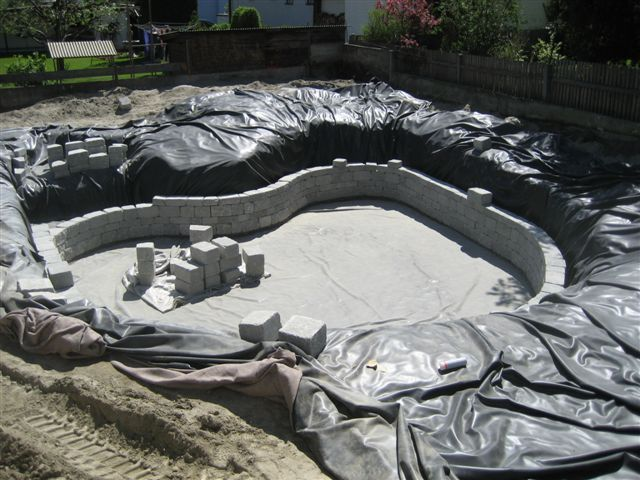 building a new Natural Pool
