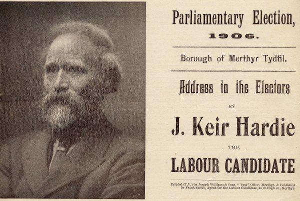 Keir Hardie. Labour lad.