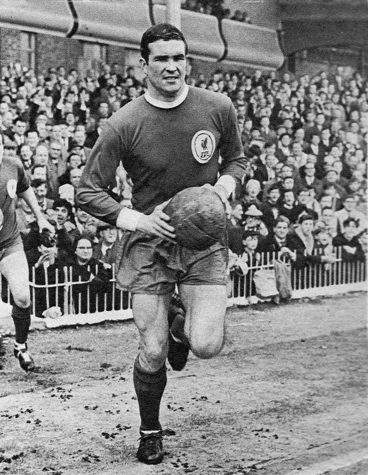 Circa 1964/65. Liverpool captain Roy Yeats.