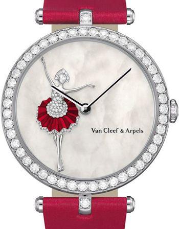 Van Cleef & Arpels Lady Arpels Ballerina decor watch