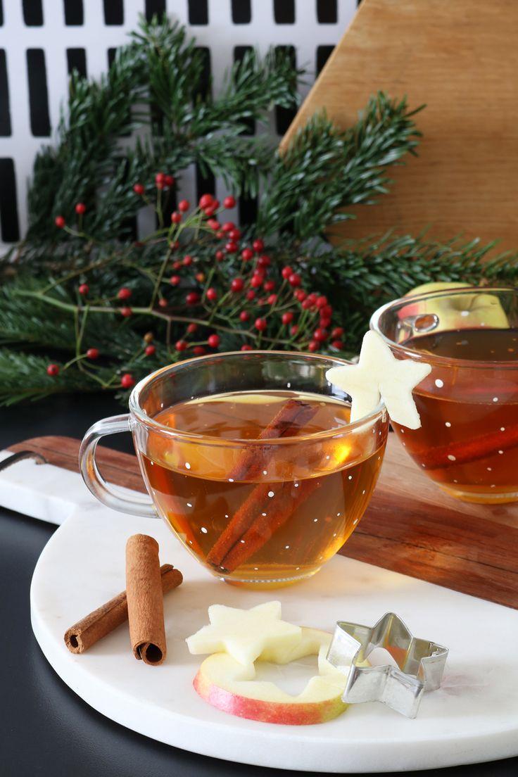 Rezept   Apfel-Zimt-Punsch   Weihnachten   Advent   Tee